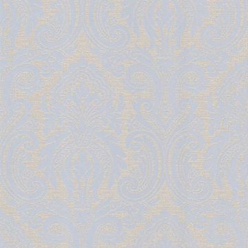 Apollo Silver Modern Damask