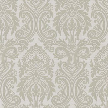Apollo Taupe Modern Damask