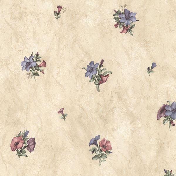 Petunia Purple Marble Floral