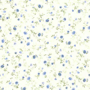 Rachelle Blue Floral Toss