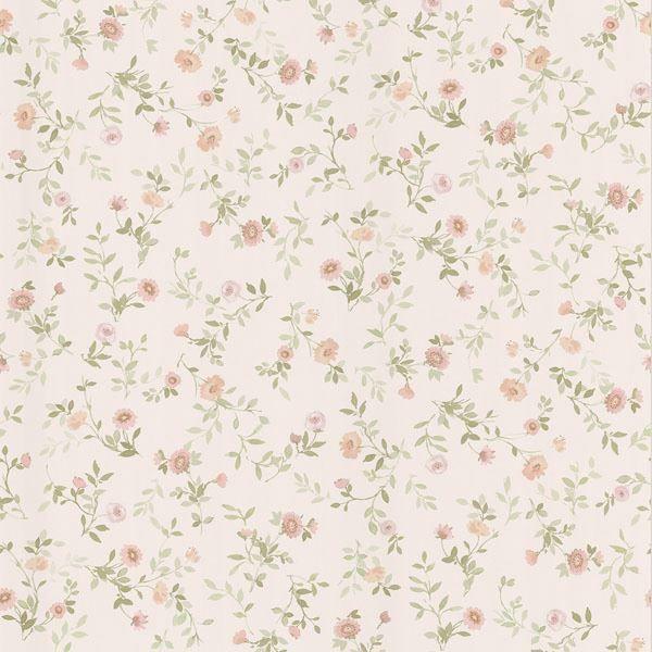 Rachelle Peach Floral Toss