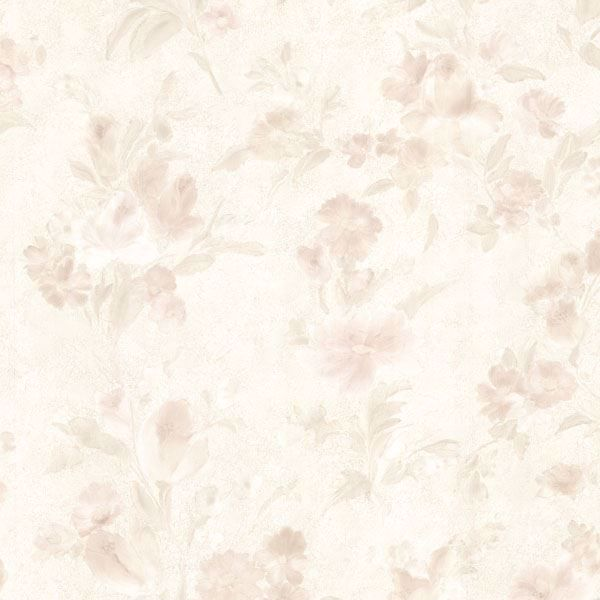 Violetta Peach Satin Floral