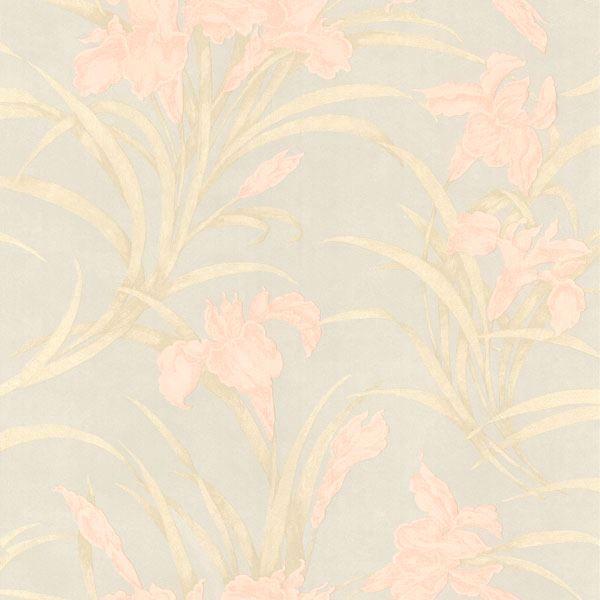 Vivianne Peach Iris Floral