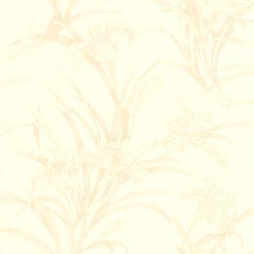 Vivianne Beige Iris Floral