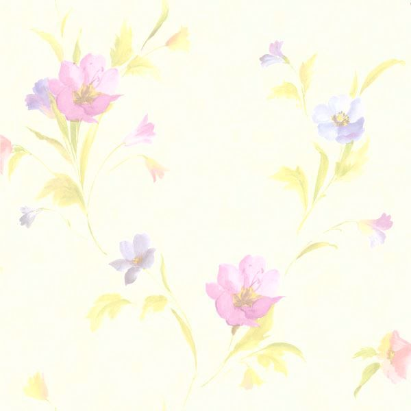 Kala Purple Satin Floral