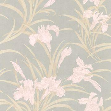 Vivianne Grey Iris Floral