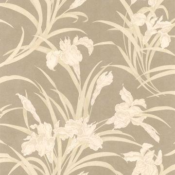 Vivianne Metallic Iris Floral