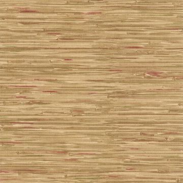 Faraji Light Brown Faux Grasscloth