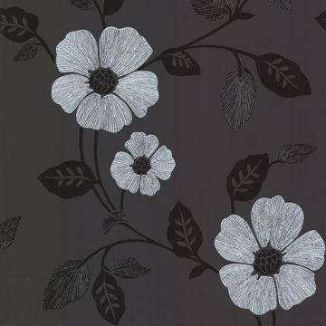 Maddison Black French Floral