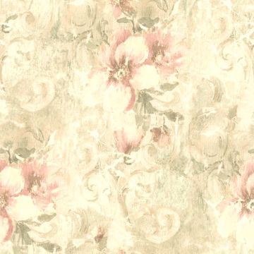 Pergoda Pink Floral Texture