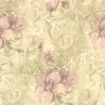 Pergoda Purple Floral Texture