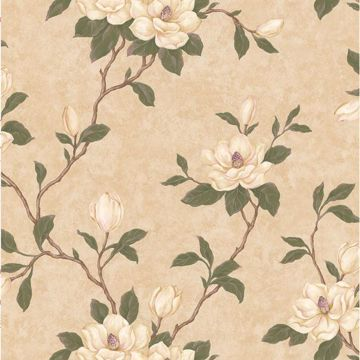 Lilith Beige Floral Branch