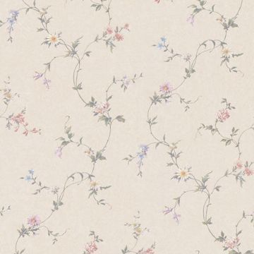 Connie Beige Small Floral Trail