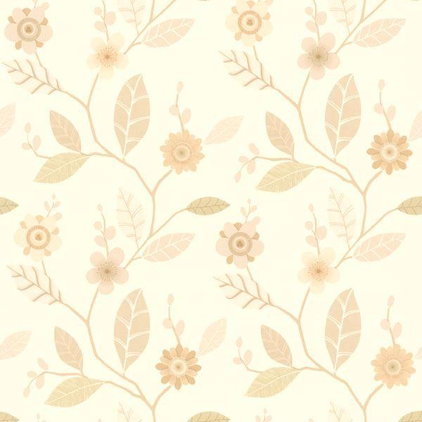 Claudia Beige Retro Blossom