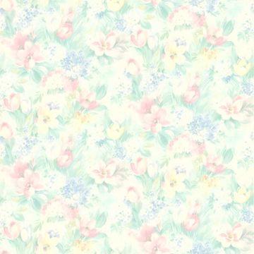 Georgia Pastel Floral Motif