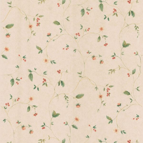 Belladonna Beige Berry And Floral Trail