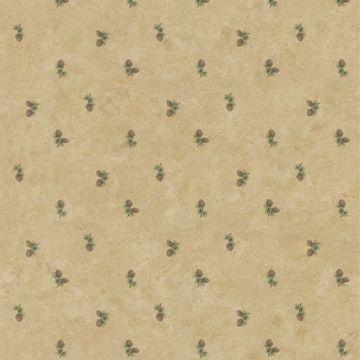 Evergreen Light Brown Pinecones