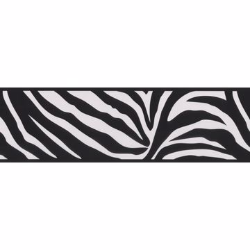 Zebra Crossing Black Zebra Border