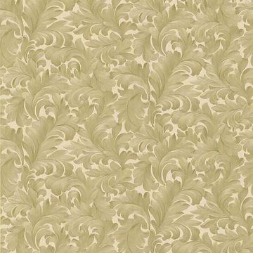 Fulvia Beige Scroll