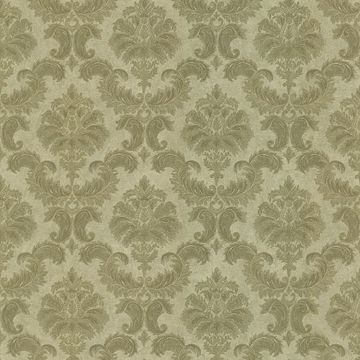Louis Brown Damask
