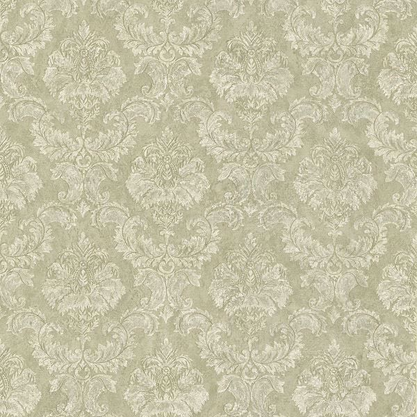 Louis Taupe Damask