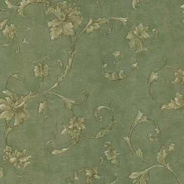 Elysium Green Grape Scroll