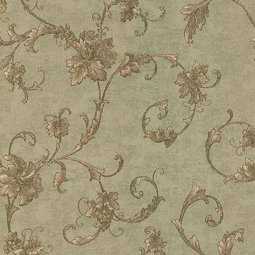 Elysium Copper Grape Scroll