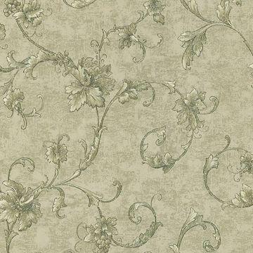 Elysium Sage Grape Scroll