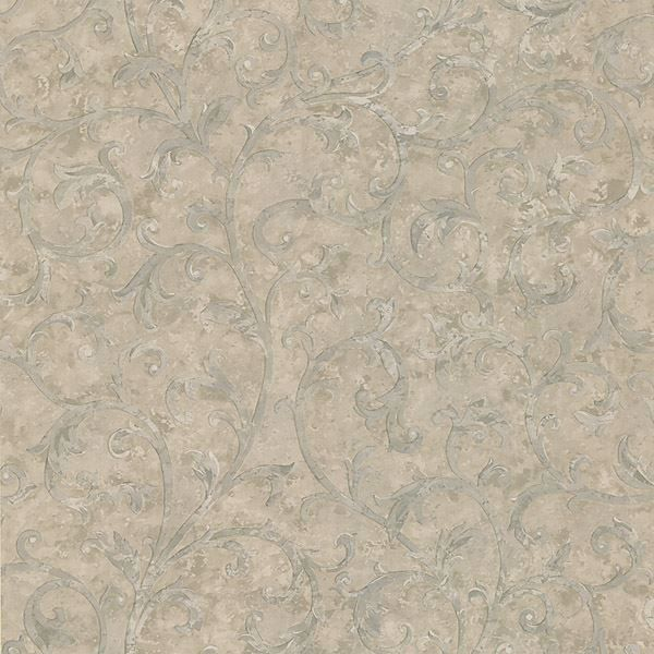 Lanza Light Grey Scroll