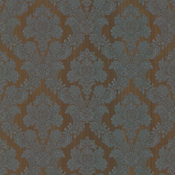 Monalisa Brown Damask Fabric