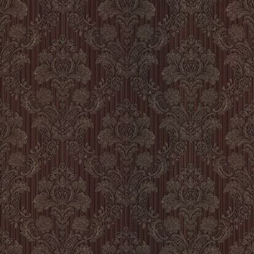 Monalisa Purple Damask Fabric