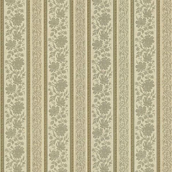 Lissandra Sage Floral Stripe