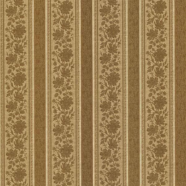 Lissandra Brass Floral Stripe
