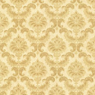 Louis Gold Damask