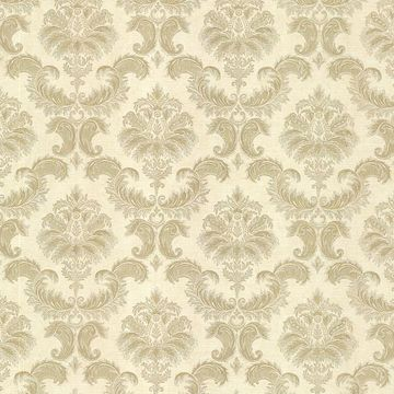 Louis Cream Damask