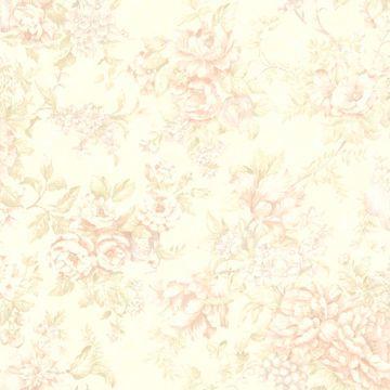 Simona Peach Floral Fruit