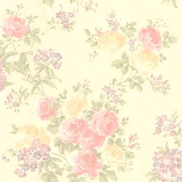 Ivana Beige Floral Trail