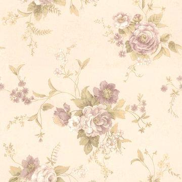 Stella Mauve Maxwell Floral