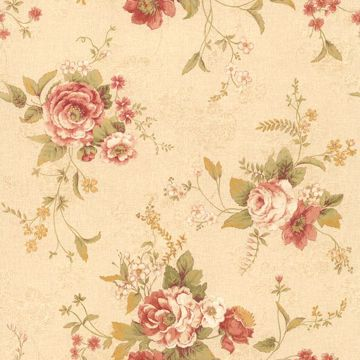Stella Taupe Maxwell Floral