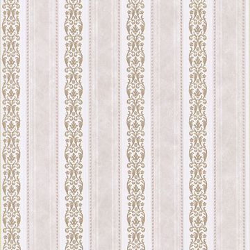 Juliette Pink Scroll Stripe