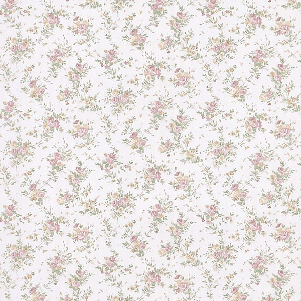 Viviane Peach Watercolour Floral