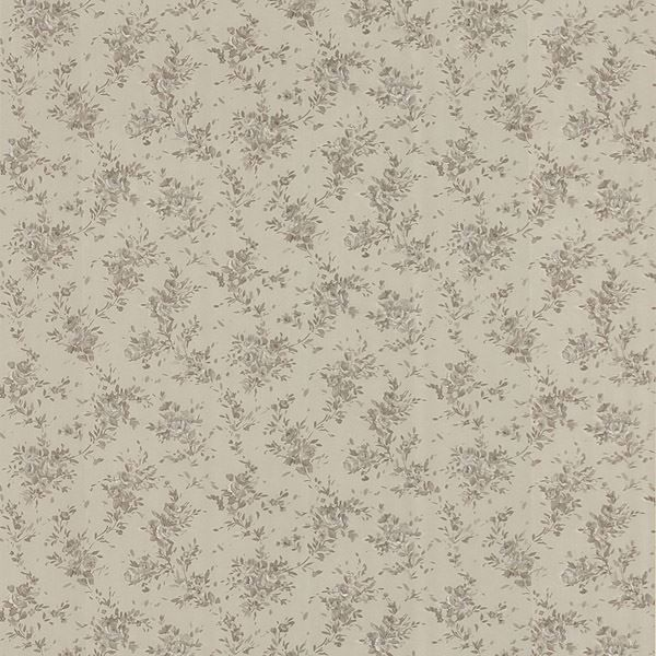 Viviane Taupe Watercolour Floral