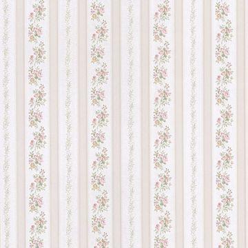 Loretta Pastel Linen Leaf Stripe
