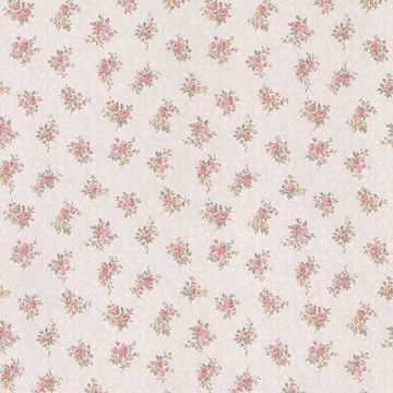 Clarissa Pink Small Floral Toss