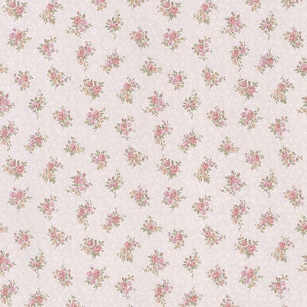 Clarissa Pink Small Floral Toss