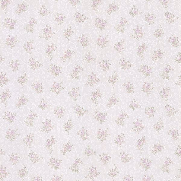Clarissa Lavender Small Floral Toss