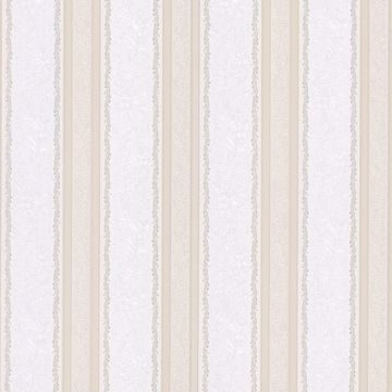Cordelia Beige Ornate Stripe