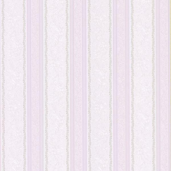Cordelia Lavender Ornate Stripe