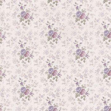 Emmeline Lavender Satin Rose