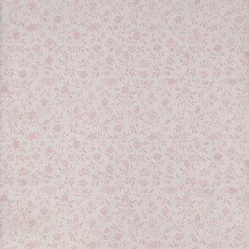 Rosalind Mauve Satin Floral Toss